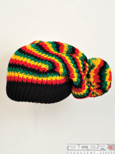 Czapka reggae jamajka