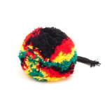 Pompon kolorowy reggae