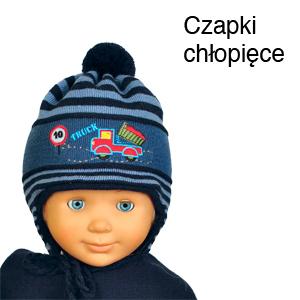 Czapki chłopięce - Acer