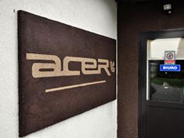Acer producent czapek logo