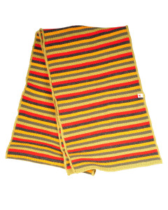 kolorowy szalik w pasy